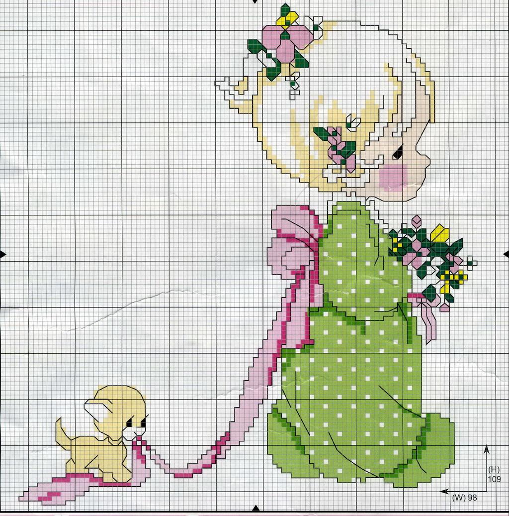 Как разложить фото на схему для вышивки